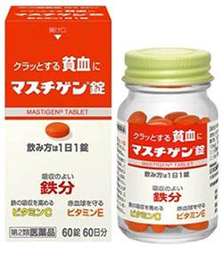 マスチゲン 効果 副作用