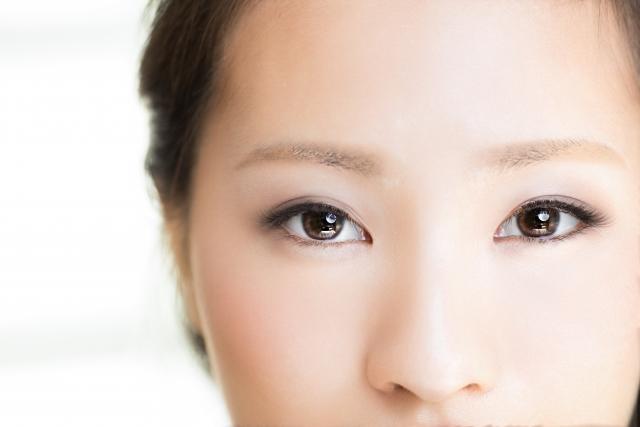 目の周り 白いプツプツ